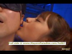 Mihiro innocent Chinese gal in lovely stockings and blowjobs