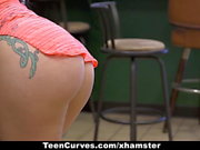 TeenCurves - Eat This Cock Meat Sandwich
