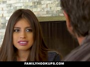 FamilyHookUps - Teen Gets Titty Fucked by Uncle