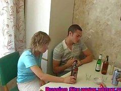 Russian sex teens drunken