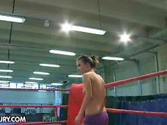 Nude Fight Club presents Tiffany Doll vs Denise Sky