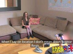 FakeAgentUK Massive fanny farts in casting