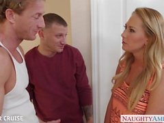 Ultra sexy Carter Cruise take two cocks