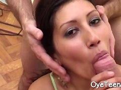 Lupe Garcia Fucks Large Cocks