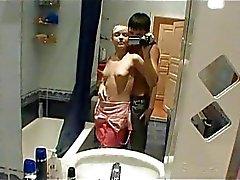Obscene toilet sex with teens