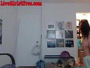 Hot Asian Webcam Girl Masturbating