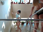 Young sweet lesbian amateur teens on webcam