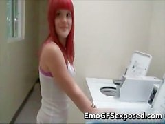 Big tits red haired pussy fingered part6