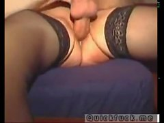 I fucked my small pussy gf very hard and creampied