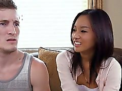 Horny Perv Stepmom Demonstrates Fellatio On Teens Boyfriend