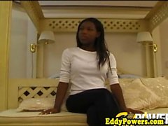 Vintage ebony teen assfucked by an old man