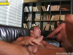 Busty milf Ariella Ferrera pounded by horny step son