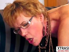 Horny Step Mom Georgina Gives Titjob Hard Teen Stepson