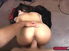 Babe takes a big dick like an expert