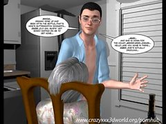 3D Comic: The Chaperone. Episode 50