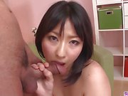 Asian Megumi Haruka serious porn on cam in POV modes