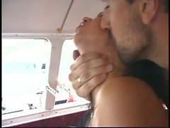 Hottie butt-fucked on a yatch