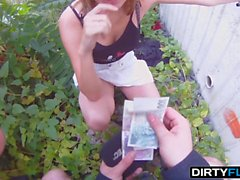 Dirty Flix - Fucked for cash before a date