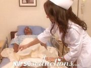 Naughty nurse fucking young sick hunk