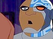 Teen Titans Porn Cyborg the Fucking machine