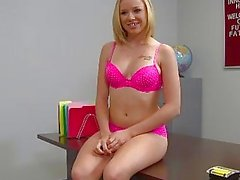 ThisGirlSucks Blonde teen Tracey Sweet blowjob han