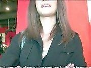 Real amateur Czech girl Kelly Sun boned and jizzed on
