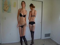 amateur teen twins strip