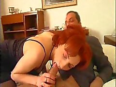 Scenes with young ladies fucked by older men