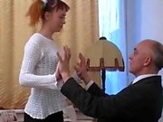Morning after sexdate young redhead amateur fucking