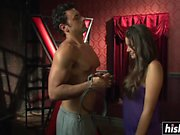 Allie Haze likes to be chained up