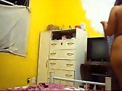 En el cuarto de Marialys