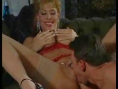 Young lady joins milf and dude for a fuck