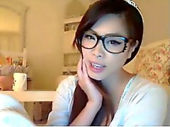 korean teen on webcam