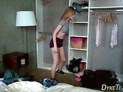 Teen lesbian mistress