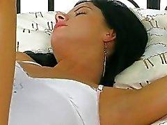 Virgin girl fingers pussy