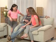 DADDY4K. Mature guy couldnt say no to daughters of his girlfriend