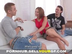 Sell Your GF - Boyfriend is a happy spectator