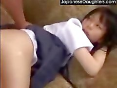 Young japanese teen destruction