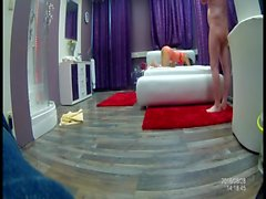 Chinese skinny teen (18) in a german VIP club spy cam