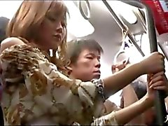 Japanese Chick On The Train