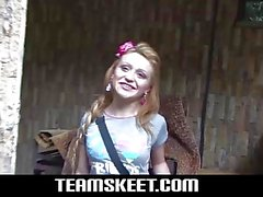 Oyeloca Blonde latina teen Tatiana Garcia first time hardcor