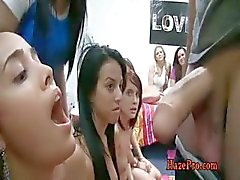 College Coeds Sucking Dildo First