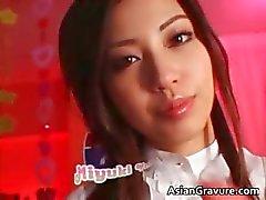 Beautiful asian teen fucks part2