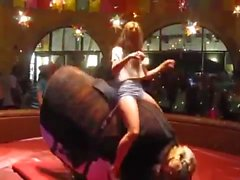 This Girl Is a Bull Riding Queen