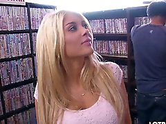 Big ass Kayla Kayden fucking in the sex shop