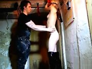 Teen Yasmine trained and flogged in my Basement