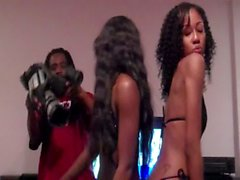 Stripping Ebony Babe [Young Dread Porn Audition Behind The Scenes 53 of 75]