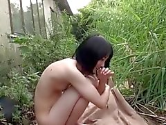 japanese yuri outdoor sex