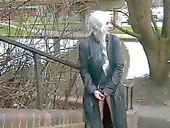 Blonde teens naughty public masturbation outdoors