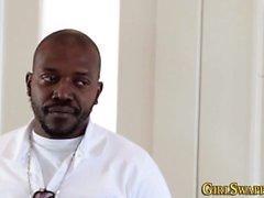 Ebony stepdaughter fucked